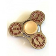 image of KING FINGER GYRO HOLLOW OUT STRESS RELIEF TOY FIDGET SPINNER (GOLDEN) -