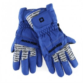 image of MARSNOW PAIRED WATERPROOF WINDPROOF THICKEN WARM PROTECTION ANTI-SLIP OUTDOOR MOTORCYCLE CYCLING GLOVES (BLUE) M