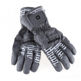 image of MARSNOW PAIRED WATERPROOF WINDPROOF THICKEN WARM PROTECTION ANTI-SLIP OUTDOOR MOTORCYCLE CYCLING GLOVES (GRAY) XL