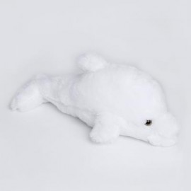 image of STUFFED CUTE FLASHING DOLPHIN PLUSH DOLL TOY BIRTHDAY CHRISTMAS GIFT FOR BABY (WHITE) -