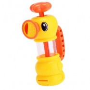 image of LOVELY DUCK PATTERN BATH SHOWER WATER SPRAYING PUMPING TOY FOR KID (COLORMIX) -