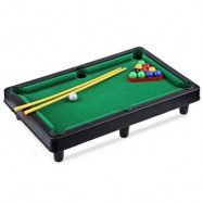 image of MINI BILLIARD BALL SNOOKER POOL TABLE TOP GAME SET ENTERTAINMENT PROPS FOR KIDS (COLORMIX) -