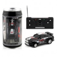image of HIGH-SPEED MINI RECHARGEABLE CAR LIGHTS CHARGING COKE CANS OF REMOTE CONTROL TOYS (BLACK) 0