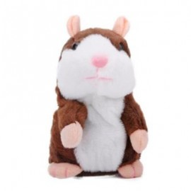 image of MAGIC TALKING HAMSTER PULSE TOY (COFFEE)