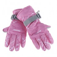 image of MARSNOW WINTER THICKENING WARM SKIING WATERPROOF MOTORCYCLE GLOVES FOR COUPLE (SHALLOW PINK) M