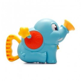 image of CHILDREN BATHROOM ELEPHANT SHOWER PUMP BABY HAND WATER (BLUE) 0
