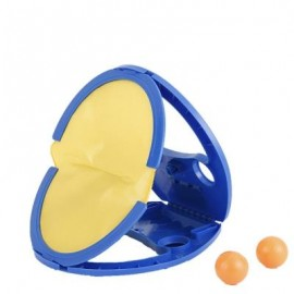 image of FUNNY GRASPING THE BALL RACKET TABLE TENNIS KID CHILD OUTDOOR INDOOR SPORT TOY (BLUE) -