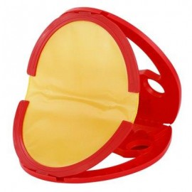 image of FUNNY GRASPING THE BALL RACKET TABLE TENNIS KID CHILD OUTDOOR INDOOR SPORT TOY (RED) -
