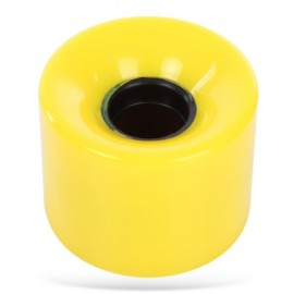 image of 4PCS 60 X 45MM OUTDOOR PU MADE SKATEBOARDING WHEELS (YELLOW) -
