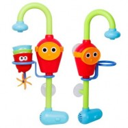 image of CHILDREN BATTERY FAUCET BATH TOYS WATER TOYS UNDER 36 MONTHS FOR CHILDREN (RED) 1 SET