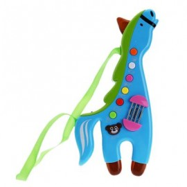 image of CHILDREN MUSICAL HORSE LIGHTING SOUND INSTRUMENT EDUCATIONAL TOY (GREEN) One SIze