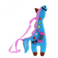 image of CHILDREN MUSICAL HORSE LIGHTING SOUND INSTRUMENT EDUCATIONAL TOY (PINK) -