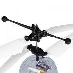 FLYTEC TY935 RC FLYING INFRARED INDUCTION HELICOPTER BALL (TRANSPARENT) 0