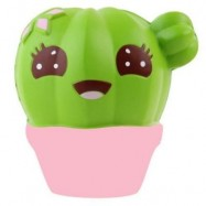 image of SQUISHY CACTUS SCENTED JUMBO SLOW RISING RELIEF TOY (COLORMIX) 0