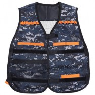 image of CHILDREN ADJUSTABLE TACTICAL VEST WITH STORAGE POCKET PROTECTIVE WAISTCOAT (COLORMIX) One Size