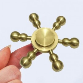 image of CALABASH RUDDER SHAPED RELIEVING STRESS FINGER GYRO 6.8*6.8CM