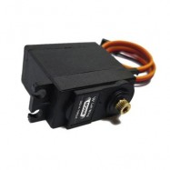 image of LEFT-WING MG09R 180 DEGREE HIGH TORQUE METAL GEAR RC HELICOPTER CAR BOAT SERVO MOTOR (BLACK) 0