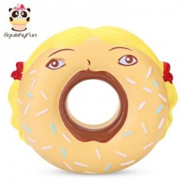 image of SQUISHYFUN PU SLOW RISING SIMULATE FUNNY DONUT TOY (COLORMIX) -