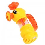LOVELY DUCK PATTERN BATH SHOWER WATER SPRAYING PUMPING TOY FOR KID (COLORMIX) One Size