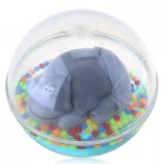 KIDS TODDLERS WATER-FILLED FLOAT FLOATING BATHROOM TUB WATER FUN BALL TOY (COLORMIX) -