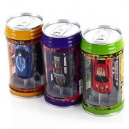 image of MULTIFUNCTION REMOTE CONTROLLED COKE CAN MINI RACING CAR (COLORMIX) -