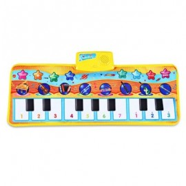 image of ZHONGZE TOYS KIDS INSTRUMENT PIANO CARPET WITH MUSIC (COLORMIX) -