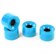 image of 4PCS HIGH STRENGTH LONGBOARD SKATEBOARD WHEELS - 60 X 45MM (BLUE) 13.00 x 12.00 x 4.50 cm