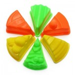 COLORFUL CAKE MOLD SPACE SAND AMAZING TOY FOR CHILDREN (GREEN) -