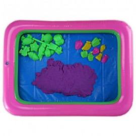 image of COLORFUL FRUIT MOLD SPACE SAND AMAZING TOY FOR CHILDREN (PURPLE) -