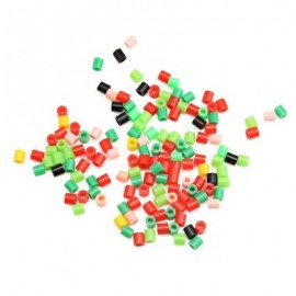 image of AE108 EVA DIY CHRISTMAS GIFT BEAD KIT CREATIVE TOY (COLORMIX) -