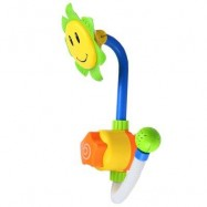 image of CHILDREN FUNNY SUNFLOWER SHOWER FAUCET BATH LEARNING TOY (GREEN) -