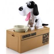 image of CREATIVE HUNGRY DOG MODEL PIGGY BANK SAVING POT (COLORMIX) -