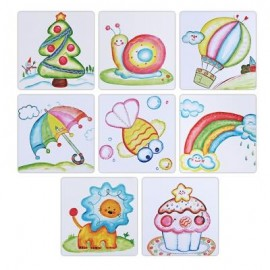 image of STICKY BRUSHY BALL PAINTING EDUCATIONAL DIY TOY FOR CHILDREN (COLORFUL) -