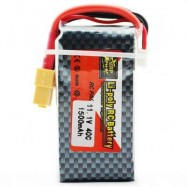 image of ZOP POWER ZOP 1500MAH 11.1V 40C BATTERY FOR RC AIRPLANE XT60 PLUG (COLORMIX) -