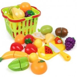 image of HOUSE SMALL BASKET FRUITS TOY (COLORMIX) 0