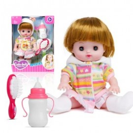 image of ELECTRIC VOICE BOTTLE DOLLS LAUGH CRY BABY GIRL TOYS (COLOUR) 0