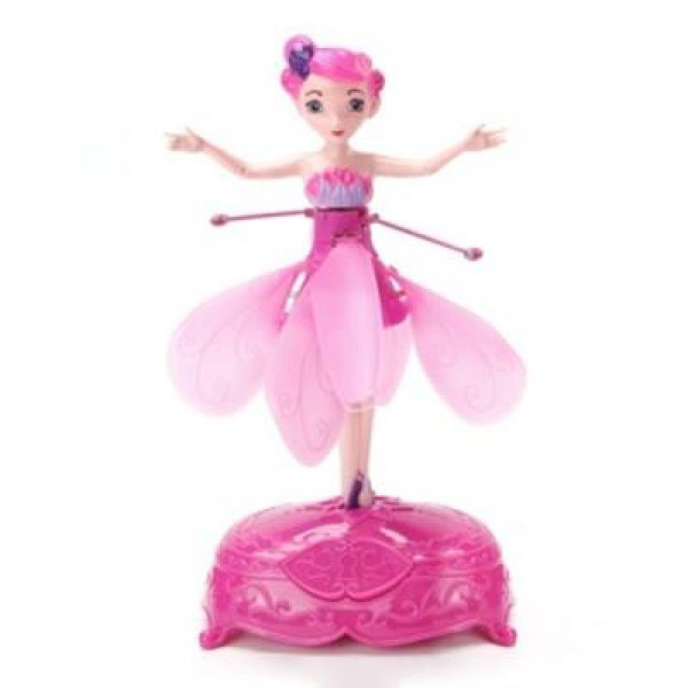 WIRELESS MAGIC FLYING FAIRY TOY (PINK) 0