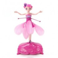 image of WIRELESS MAGIC FLYING FAIRY TOY (PINK) 0