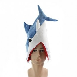 image of SHARK HAT PLUSH TOY GIFT (BLUE) 0