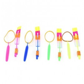 image of 50PCS KIDS NOVELTY FLASHING FLYING ARROW OUTDOOR SPORTS TOY GIFT (COLORMIX) -