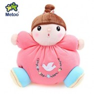image of METOO STUFFED PLUSH DOLL TOY BIRTHDAY CHRISTMAS GIFT FOR BABY (WATERMELON RED) -
