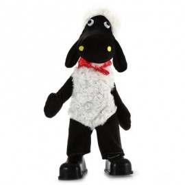 image of 15 INCH SHEEP STYLE MUSICAL SHAKING HEAD PLUSH TOY STUFFED DOLL DECORATION GIFT 40.00 x 10.00 x 10.00 cm