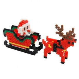 image of RM2000 EVA DIY CHRISTMAS GIFT BEAD KIT CREATIVE TOY (COLORMIX) -