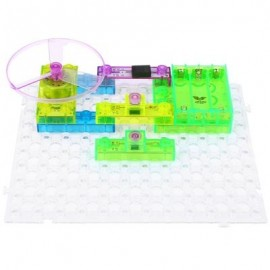 image of YSGO YS2960 INTEGRATED ELECTRONIC CIRCUIT BUILDING BLOCKS KIT PHYSICS LEARNING DEVELOPMENT TOY (COLORMIX) -