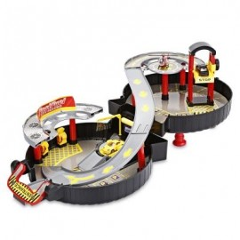 image of WY200 RACEWAY CAR PLAY SET PARKING TOYS MODEL BUILDING KITS (COLORMIX) 0