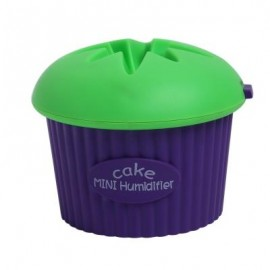 image of 200ML ULTRASONIC USB MINI CUPCAKE SHAPE HUMIDIFIER (GREEN) -