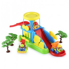 image of CHILDREN COOL PARKING LOT DISASSEMBLY ASSEMBLY EDUCATIONAL TOY SET (COLOURMIX) 44.00 x 29.00 x 9.00 cm