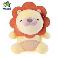 image of METOO ANIMAL PLUSH DOLL TOY BIRTHDAY CHRISTMAS GIFT FOAM GRANULE FILLER (DAFFODIL) -