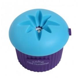 image of 200ML ULTRASONIC USB MINI CUPCAKE SHAPE HUMIDIFIER (BLUE) -
