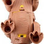 RONGKAI REALISTIC ELECTRIC ANIMAL MODEL STEGOSAURUS FOR KIDS (BROWN) -